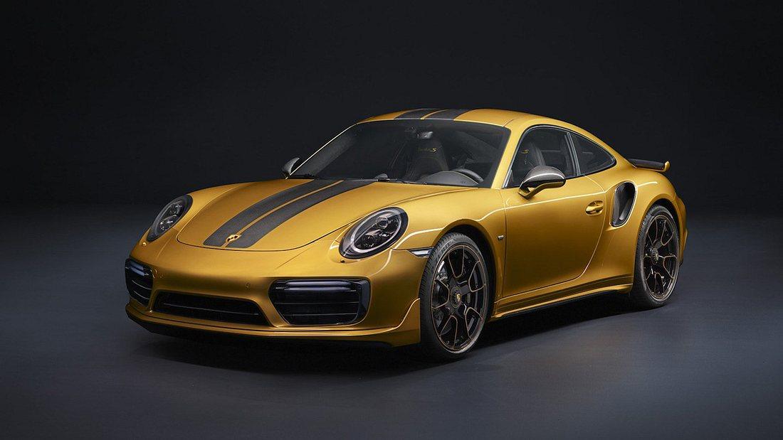 Vergoldete PS: Porsche präsentiert stärksten 911 Turbo S aller Zeiten
