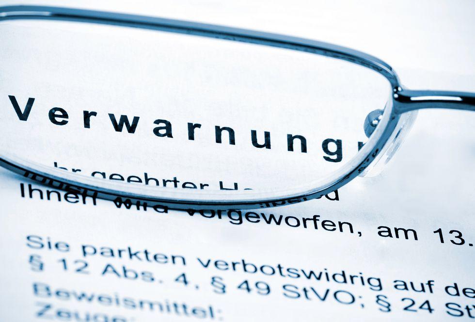 Die fünf größten Bußgeldfallen im deutschen Straßenverkehr