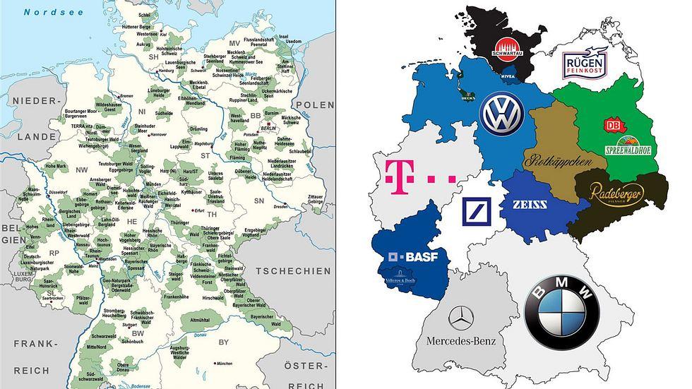 8 Karten, die dich Deutschland in einem ganz anderen Licht sehen lassen