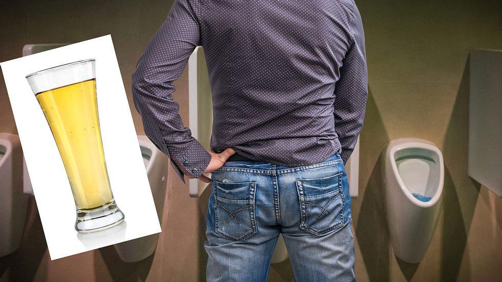 Trinkt meinen mann urin mein Mein Vater
