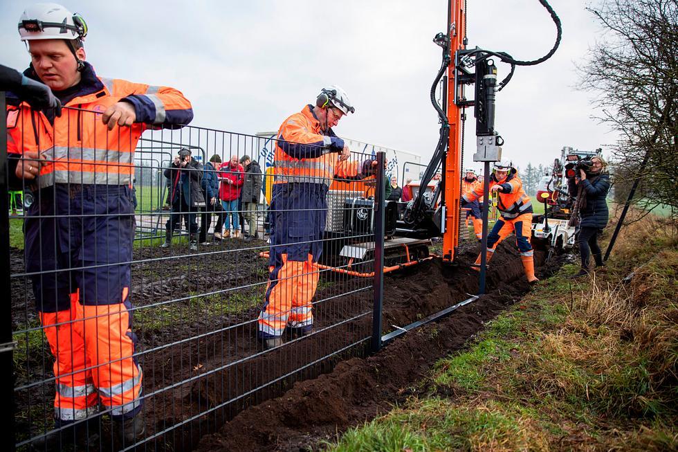 Dänemark stellt Grenzzaun zu Deutschland fertig