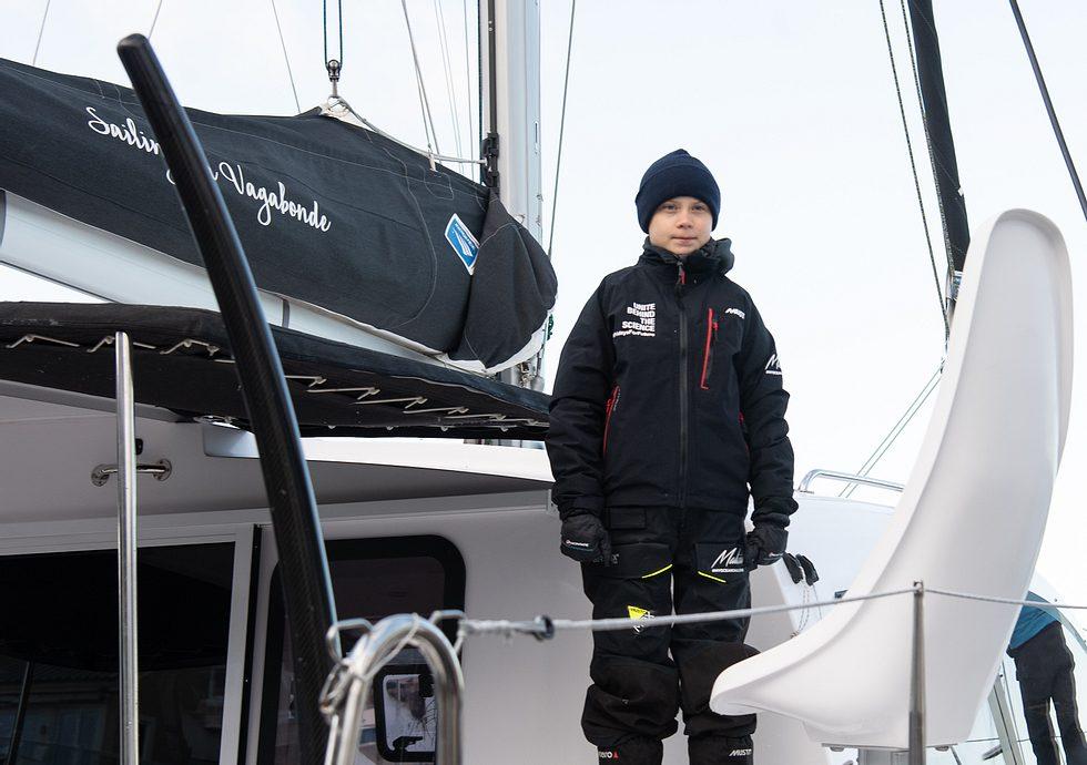 Greta in Gefahr: Katamaran steuert bei Atlantiküberquerung auf Sturmwand zu