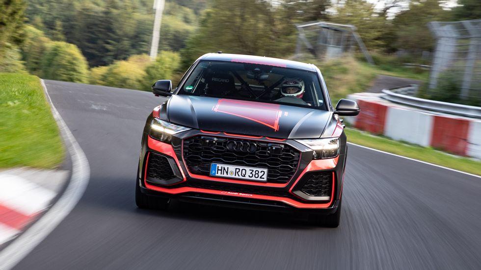 Audi RS Q8 stellt Nürburgring-Rekord auf