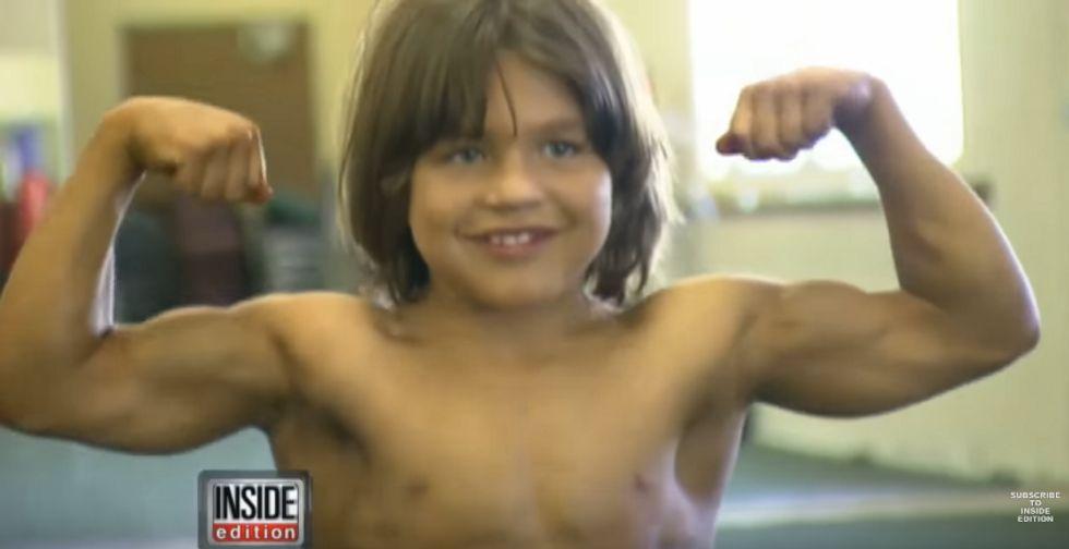 """""""Little Hercules"""": So sieht der jüngste Bodybuilder aller Zeiten heute aus"""