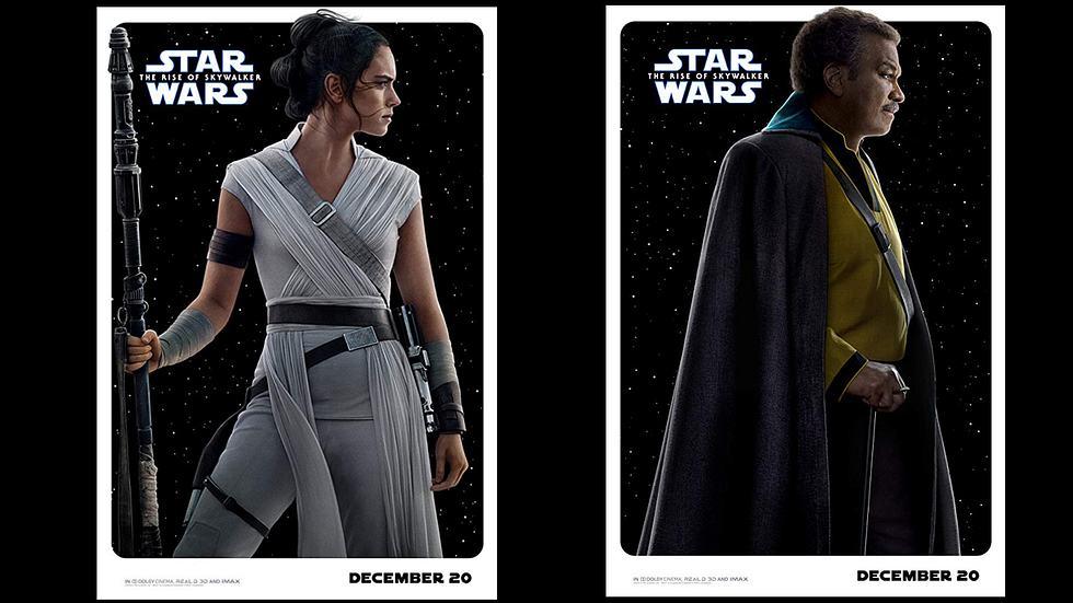 """""""Star Wars: Der Aufstieg Skywalkers"""": 12 neue Poster zeigen unbekannte Figuren"""