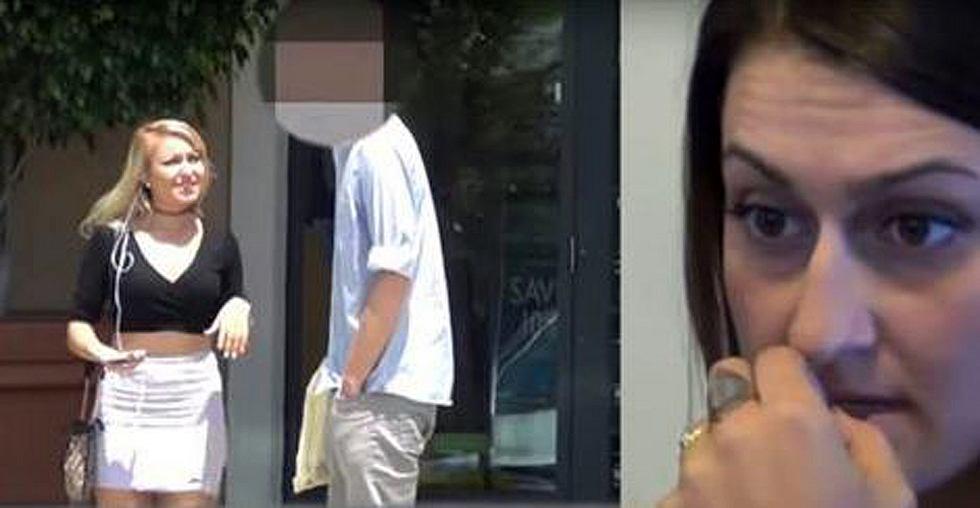 Frau testet Treue von Freund mit Pornostar. Kassiert die Quittung