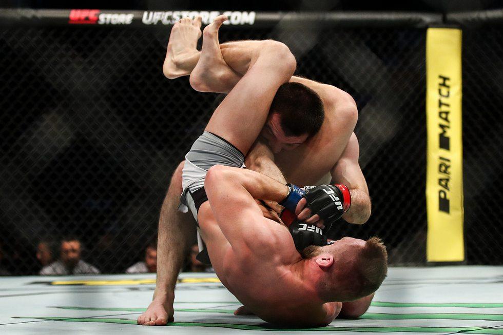 Deutscher UFC-Kämpfer besiegt Nurmagomedov