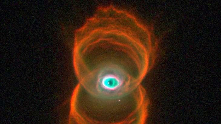 Ein Auge im Weltall?