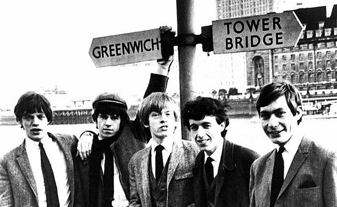 Die Rolling Stones 1963 in London