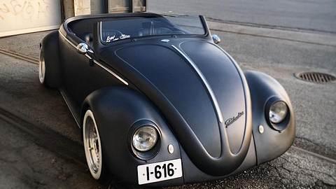 Aufgemotzter VW Beetle - Foto: Danni Kordal