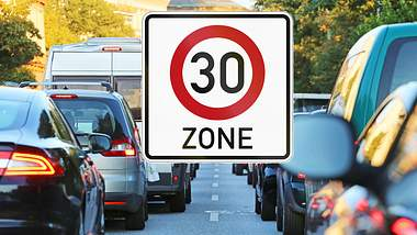 30. Zone in der Stadt - Foto: iStock / Canetti; jojoo64