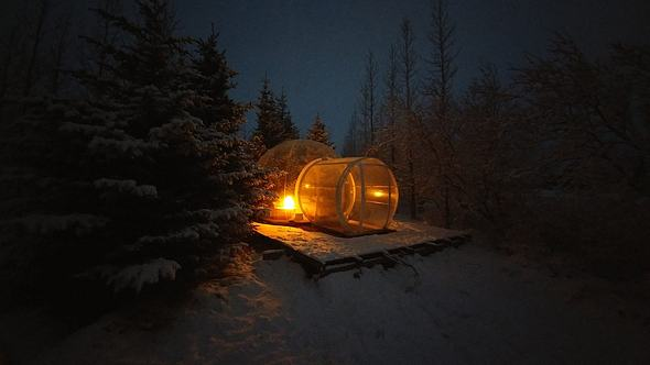 In diesem Hotel gehen Kindheitsträume in Erfüllung - Foto: Facebook / Kanal Bubbles in Iceland