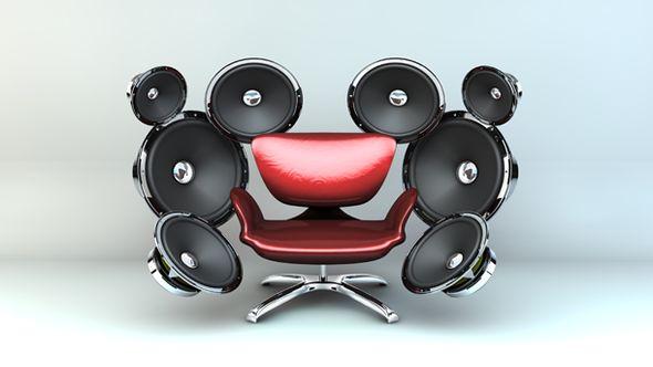 5.1 Soundsystem kabellos - Foto: iStock/kutberg