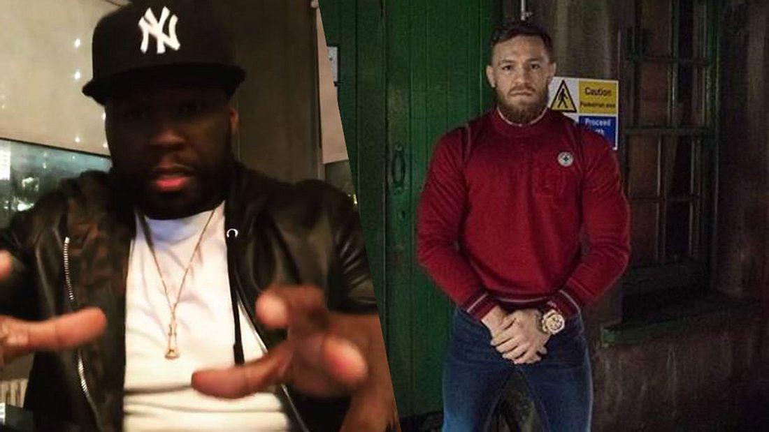 50 Cent und Conor McGregor