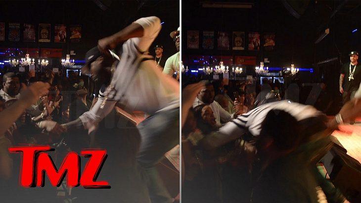 """Ein Konzert von 50 Cent im """"The Lox"""" in Baltimore wurde von einen unschönen Zwischenfall überschattet"""