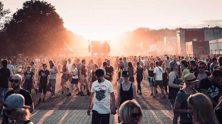 Rock im Park hatte 2017 mehr Besucher als Rock am Ring