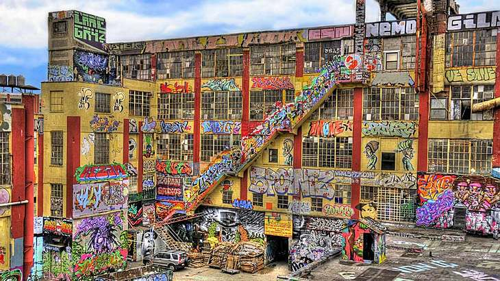 "Das legendäre ""5Pointz"" in New York"
