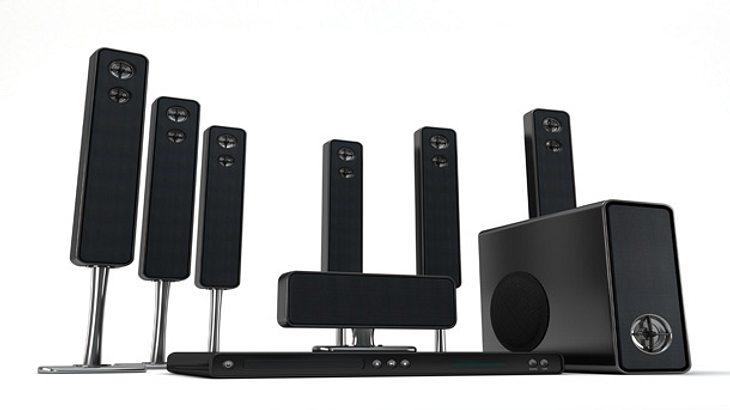 7.1 Soundsystem richtig aufstellen