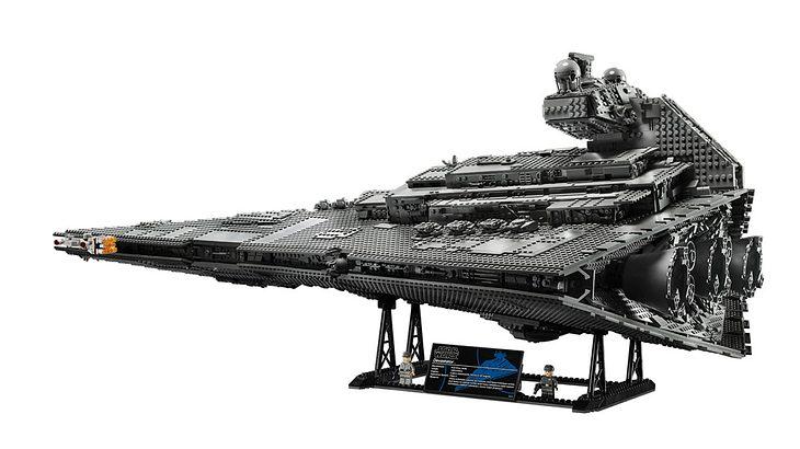 Der ImperialeSternzerstörer von Lego