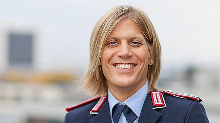 Anastasia Biefang ist Kommandeurin bei der Bundeswehr