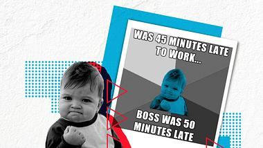 Das macht das Kind aus den Success Kid-Memes heute