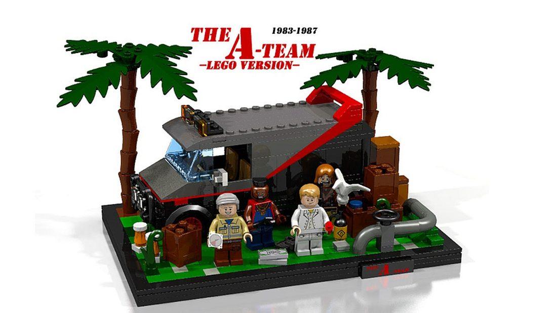 A-Team als Lego-Bausatz