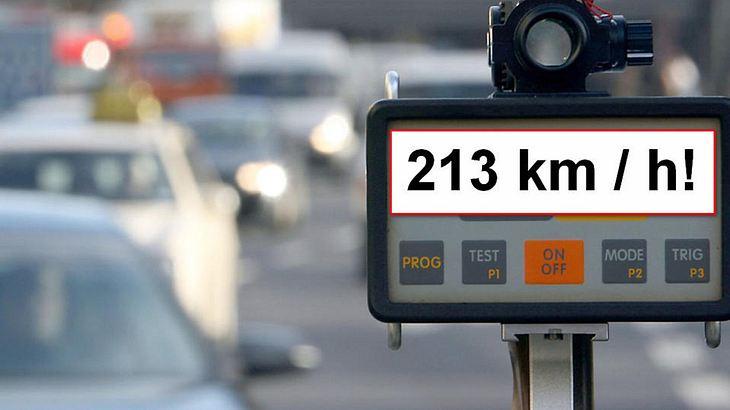 A4 bei Köln: Ein Mann war mit 213 km/h unterwegs. Dem Raser droht ein mehrmonatiges Fahrverbot