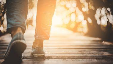 Abnehmen durch Spazierengehen