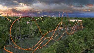 Jersey Devil: Die längste und schnellste eingleisige Achterbahn der Welt - Foto: Six Flags Great Adventure