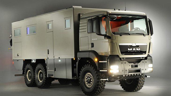 action mobil XRS 7200: Expeditionsmobil für abenteuerliebende Weltenbummler