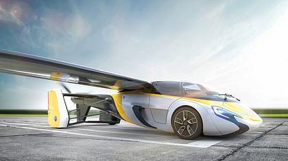 AeroMobil: Dieses fliegende Auto kommt noch 2017!