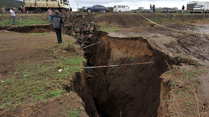 Afrika bricht auseinander – gigantischer Erdriss nicht mehr aufzuhalten
