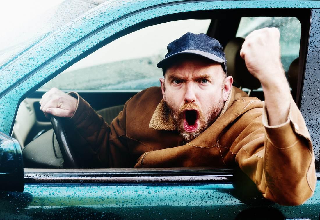 Aggressionen im Straßenverkehr