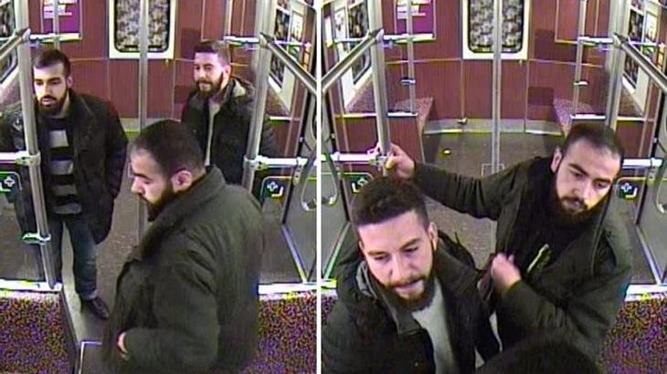 Die Polizei Berlin sucht diese drei U-Bahn-Schläger