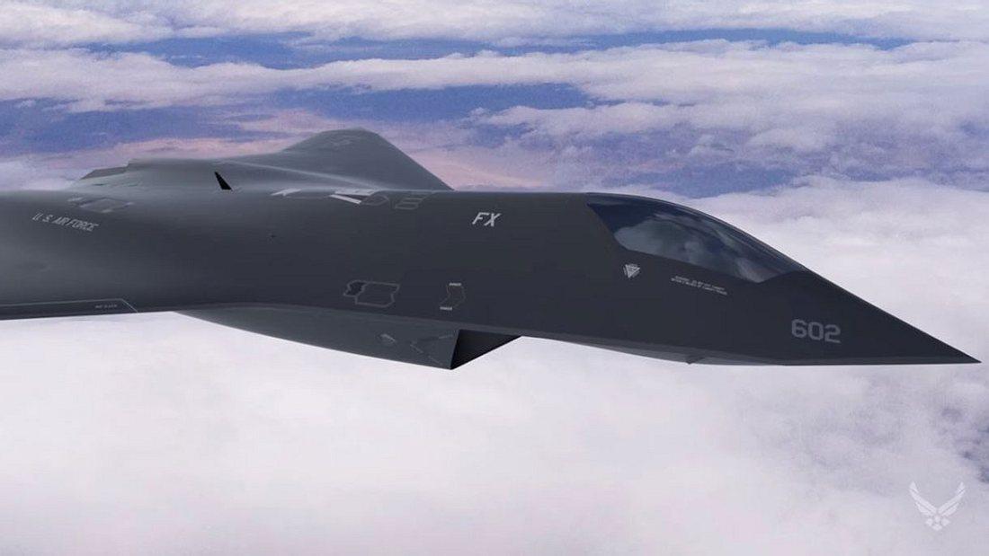 Kampfjet F-X der U.S. Air Force