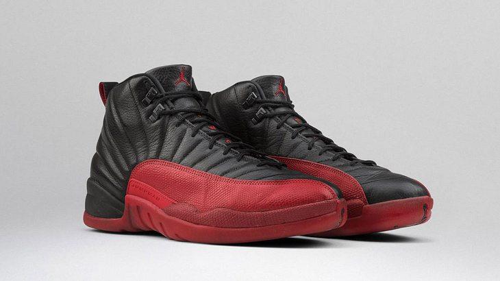 """Teuerste Sneaker der Welt: Nike Air Jordan 12 """"Flu Game"""""""