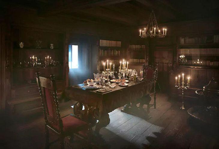 Das Schloss von Graf Dracula in Transsilvanien