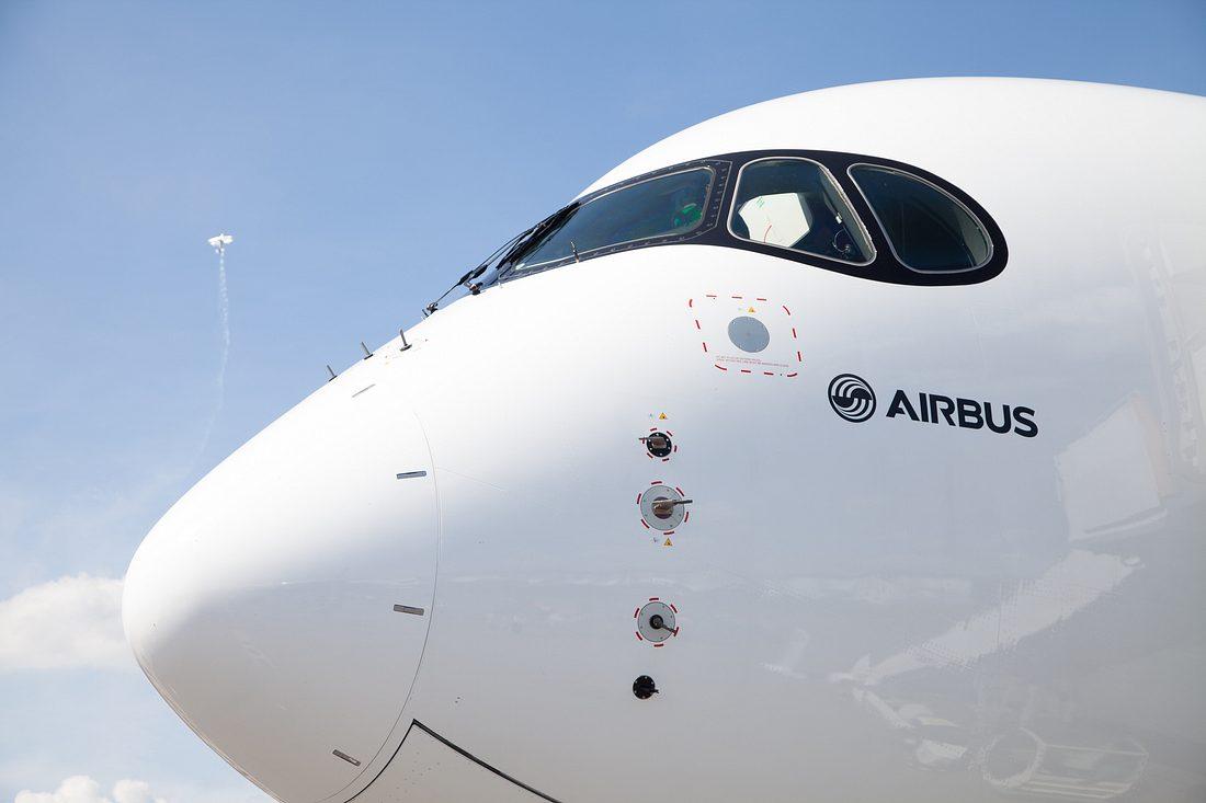 Flugzeug von Airbus
