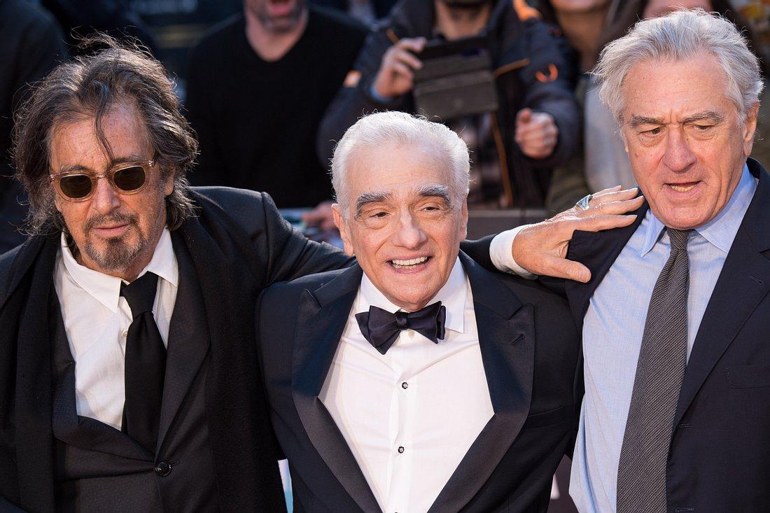 Al Pacino, Martin Scorsese und Robert de Niro