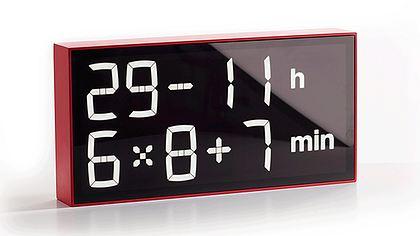 Albert Clock: Diese Uhr zwingt dich, Matheaufgaben zu lösen, damit du die Uhrzeit erfährst - Foto: Axel Schindlbeck