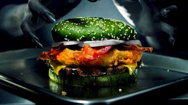 """""""Albtraum""""-Burger von Burger King."""