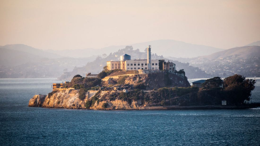 Die Gefängnis-Insel Alcatraz, San Francisco