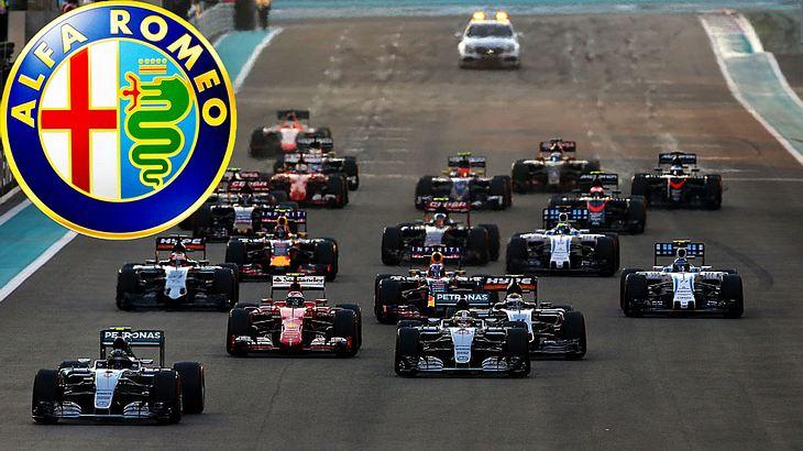 Alfa Romeo ist nach 30 Jahren Pause wieder bei der Formel 1 am Start