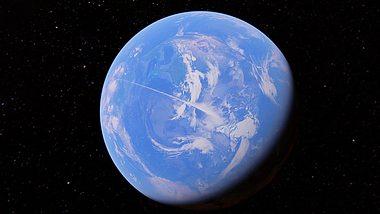 Alien-Bremsstreifen - Foto: Youtube / secureteam10 (Screenshot)