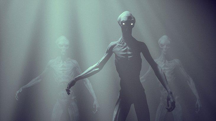 Waren Aliens auf der Erde?