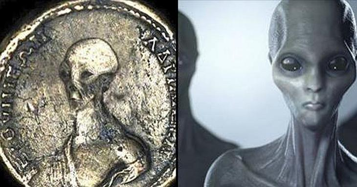 Beweist diese angebliche Alien-Münze den Besuch von Außerirdischen auf der Erde?