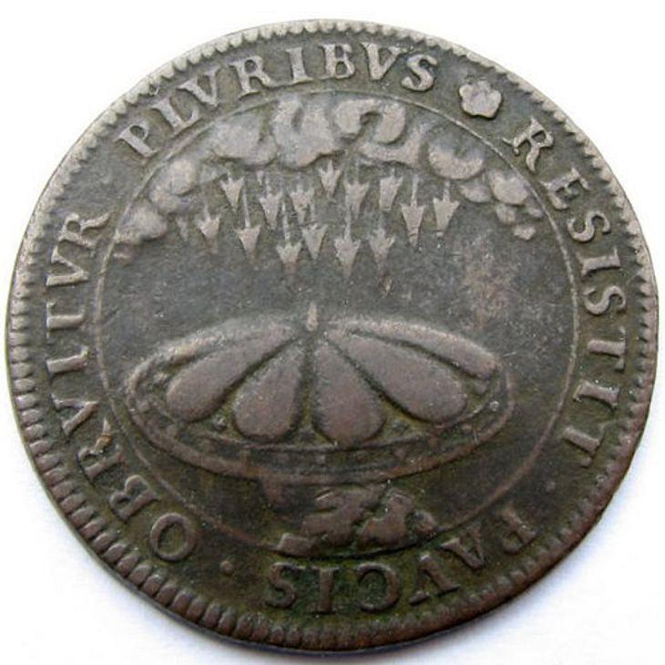 Ist das die Rückseite einer Alien-Münze?