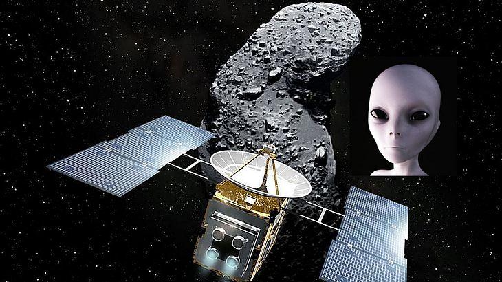 Avi Loeb: Haben Aliens haben unserem Sonnensystem einen Asteroiden geschickt (Symbolfoto).