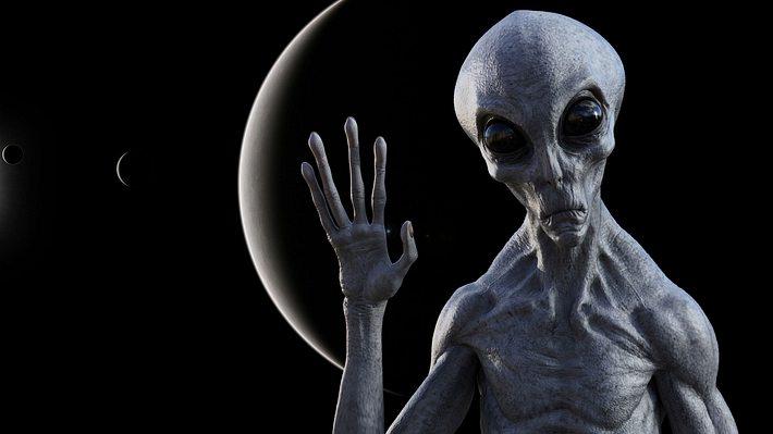 Alien - Foto: iStock / BWFolsom