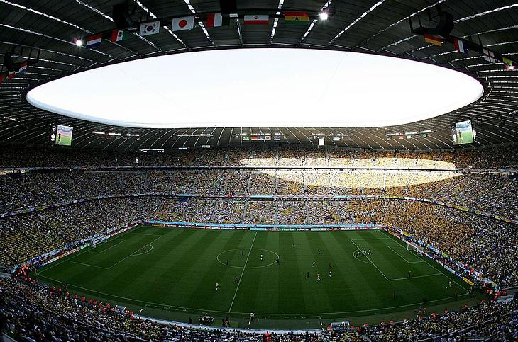 Allianz-Arena in München.